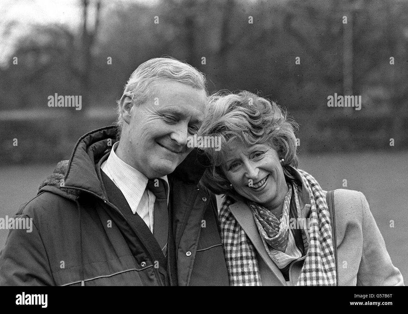 Tony Benn Chesterfield Labour Candidate - Stock Image