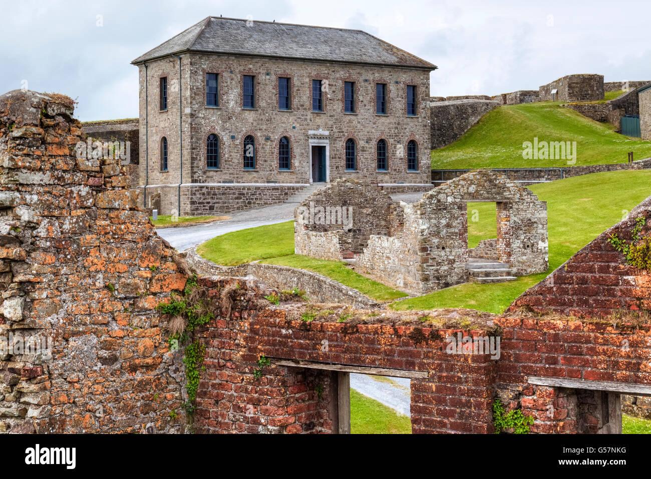 Charles Fort, Kinsale, County Cork, Ireland Stock Photo