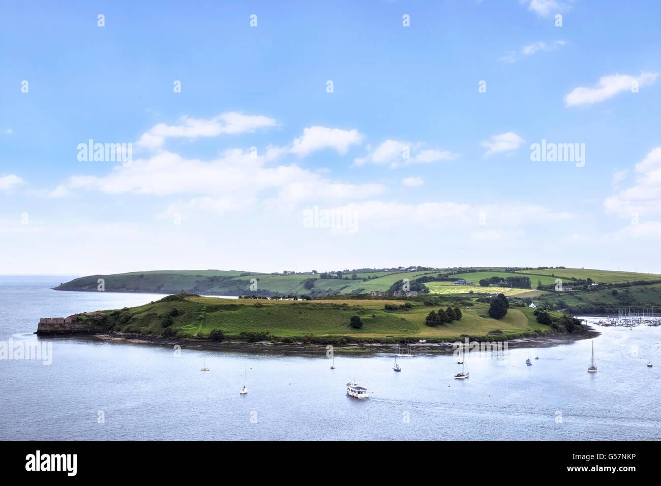 Castlepark Peninsula, James Fort, Kinsale, County Cork, Ireland - Stock Image