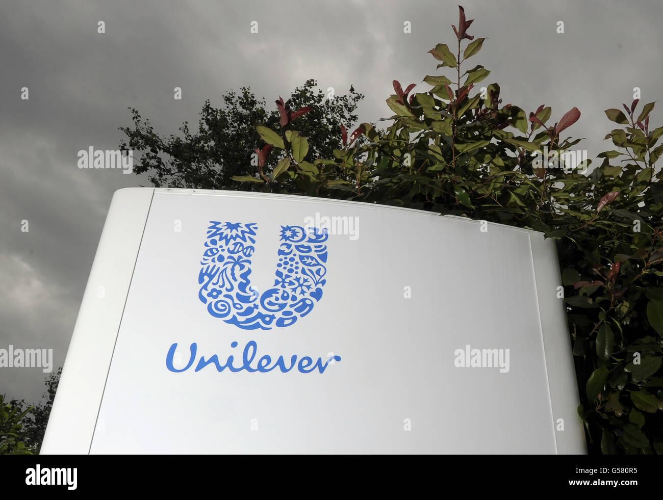 Unilever site closure proposals - Stock Image