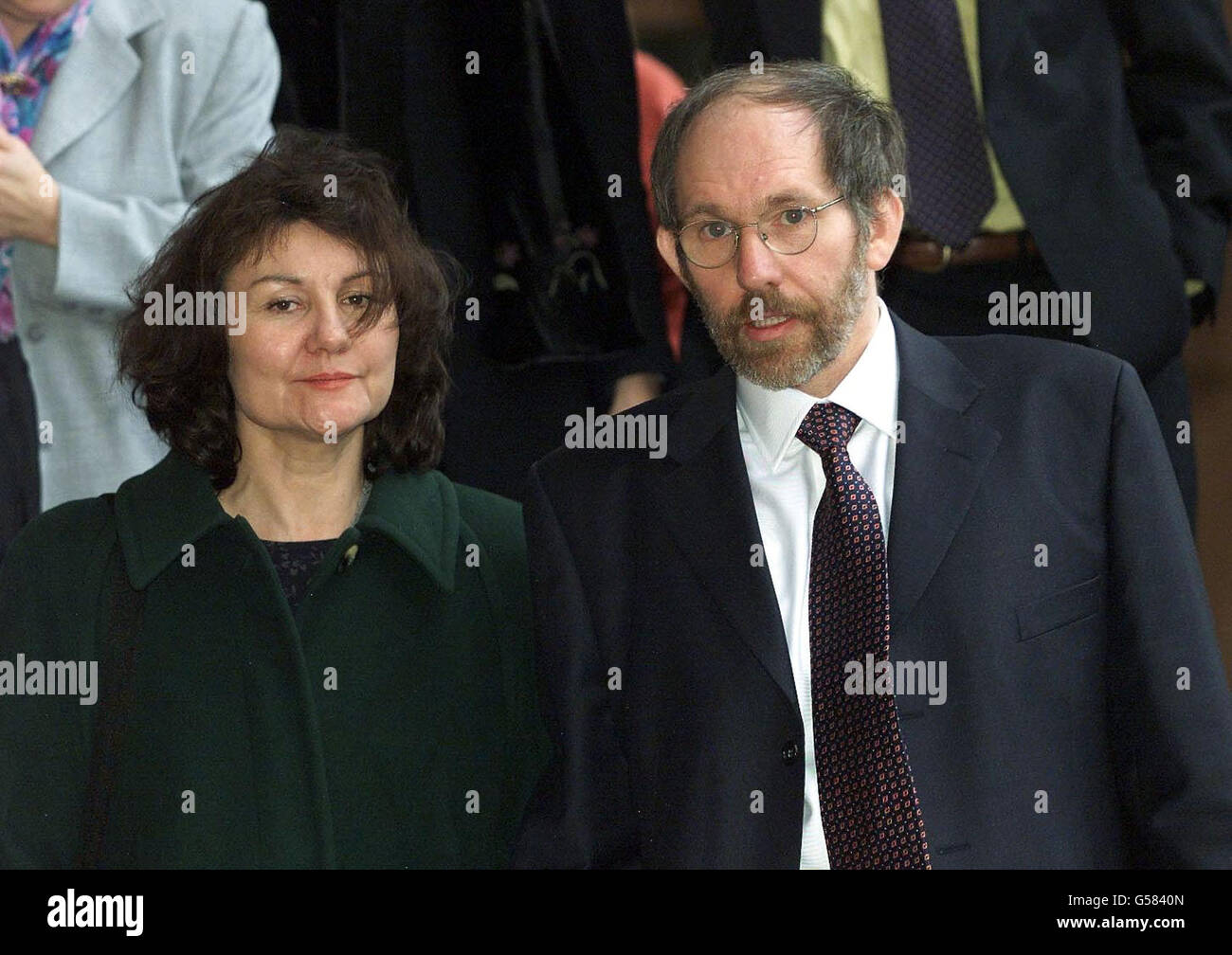 Newcastle Mr Laidler and wife - Stock Image