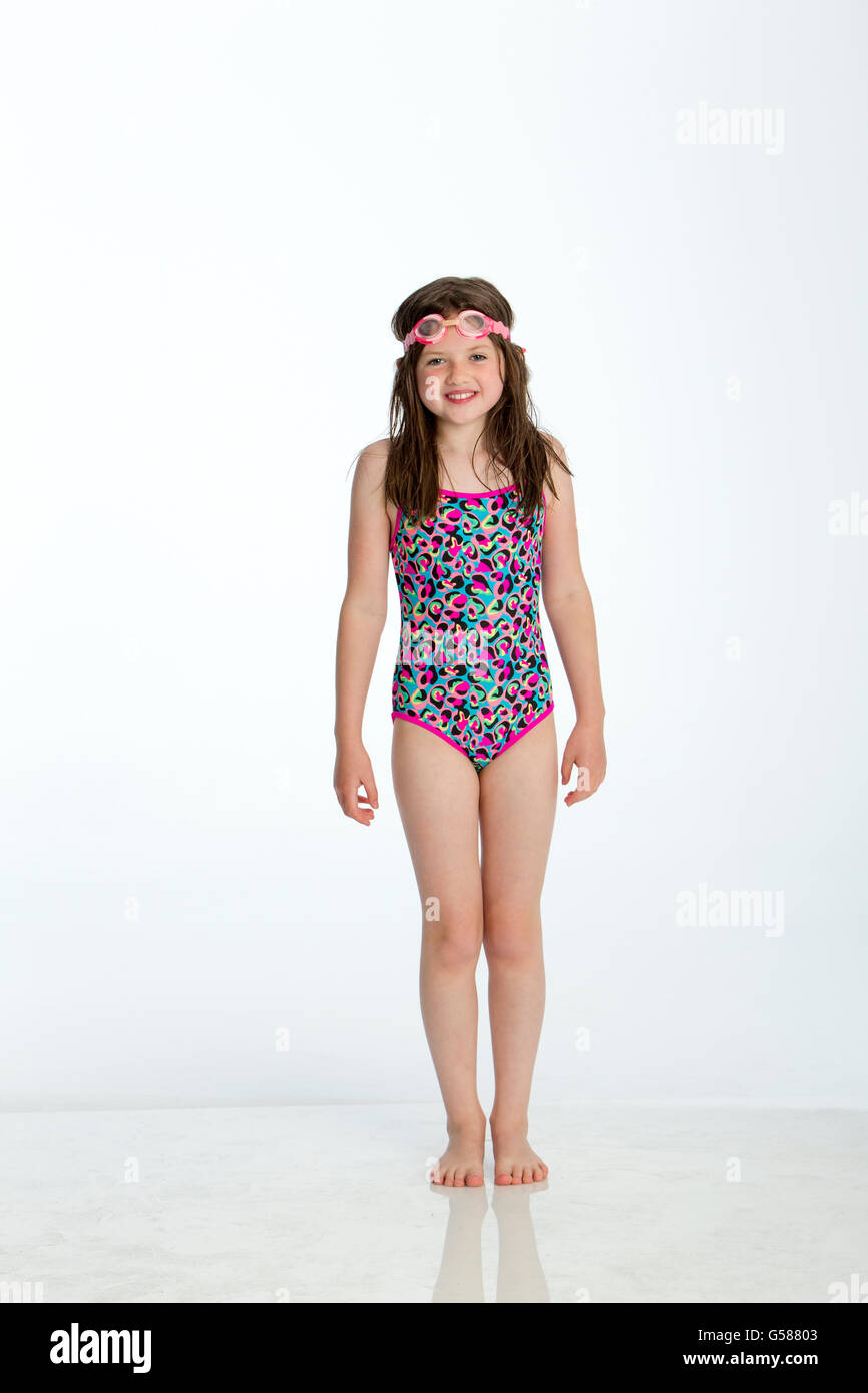 Leopard Print Bathing Costume Stock Photos Leopard Print Bathing