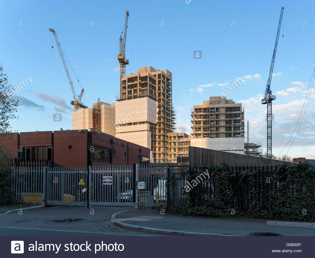 Morello Development - East Croydon - Stock Image