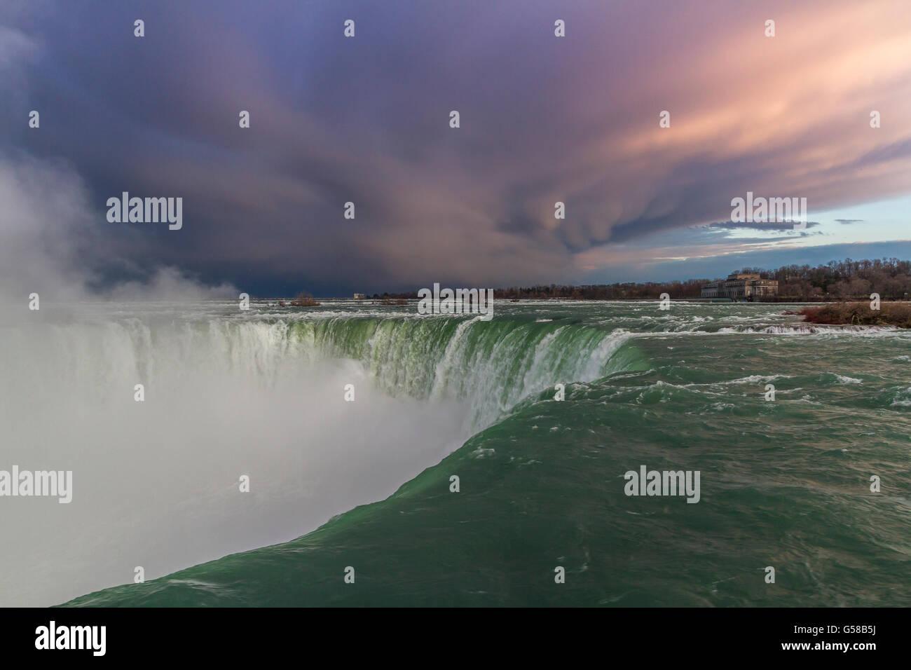 Horseshoe Falls,Niagara Falls,Canada - Stock Image