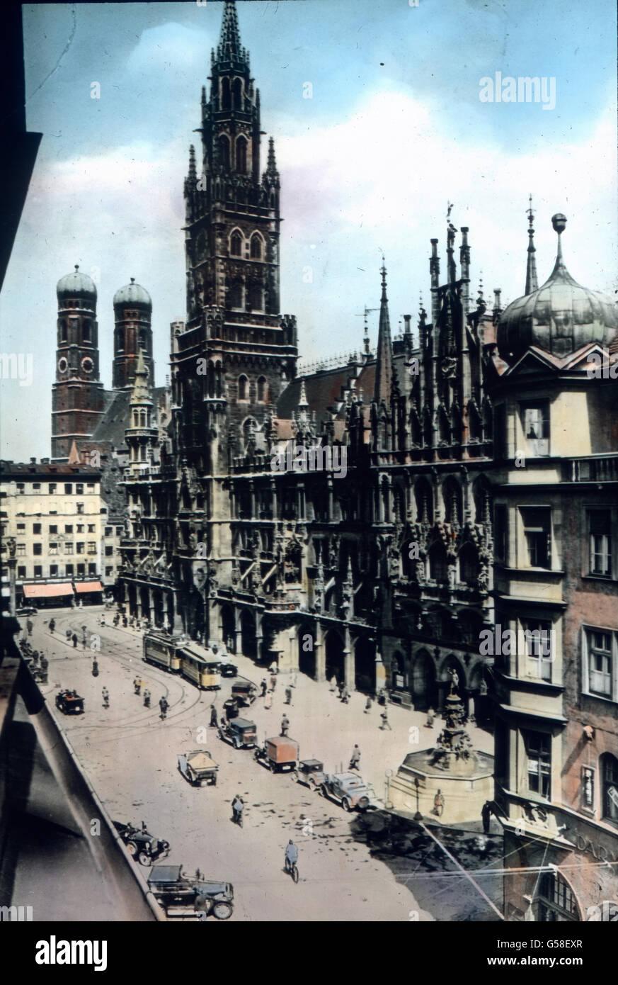 Deutschland hat viele Städte, in denen sich Pflege von Kunst und Wissenschaften mit frohem Lebensgefühl - Stock Image