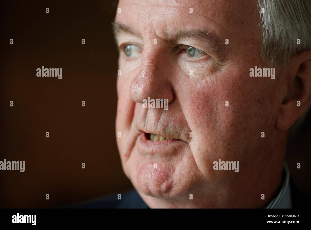 Sir Craig Reedie, CBE, President of World Anti-Doping Agency (WADA) Stock Photo
