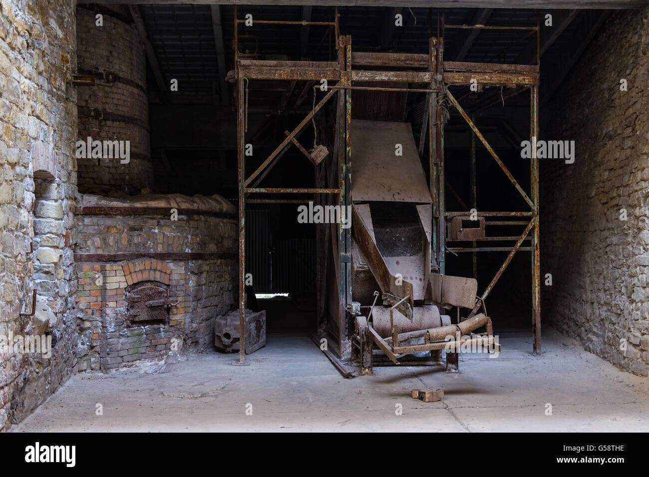 abandoned factory interior old building stock photos abandoned factory interior old building. Black Bedroom Furniture Sets. Home Design Ideas