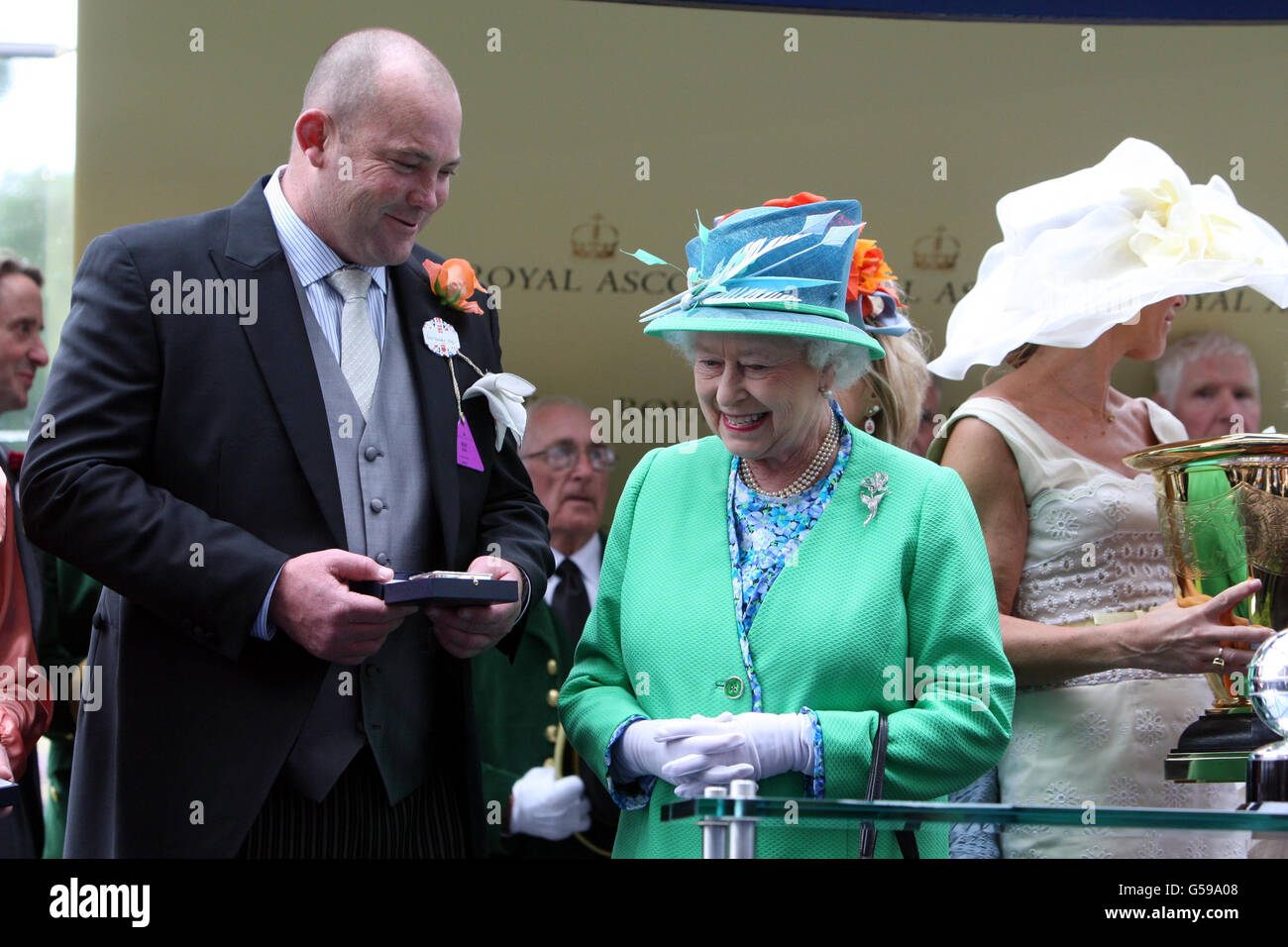 Horse Racing - The Royal Ascot Meeting 2012 - Day Five - Ascot Racecourse - Stock Image