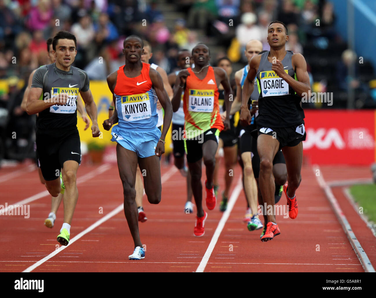Athletics - Samsung Diamond League - Aviva London Grand Prix - Day Two - Crystal Palace - Stock Image