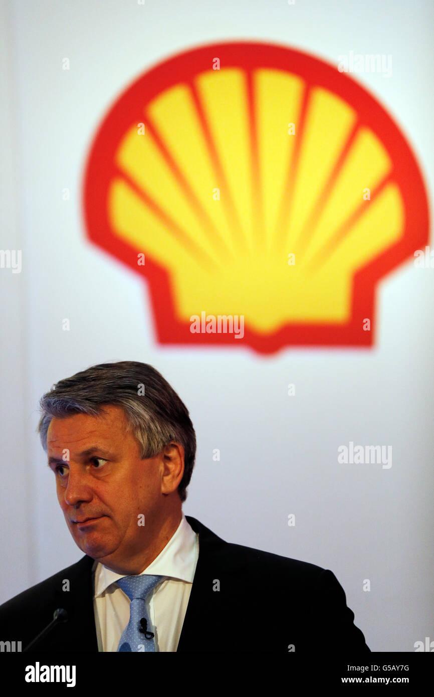 Ben van Beurden, CEO of Royal Dutch Shell plc. Stock Photo
