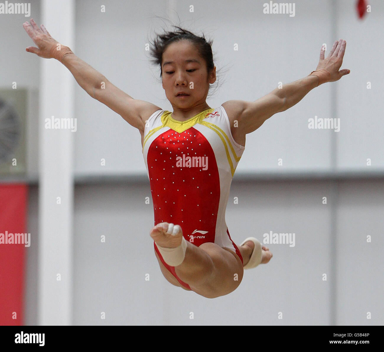 Chinese olympic gymnastics training join