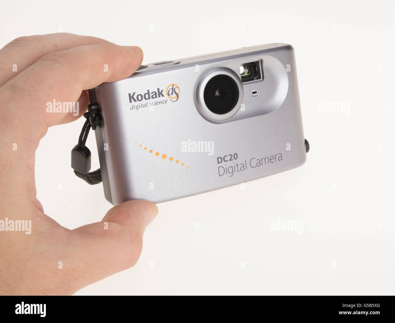 Kodak dS digital science DC20 digital camera released by Kodak in 1996 - Stock Image