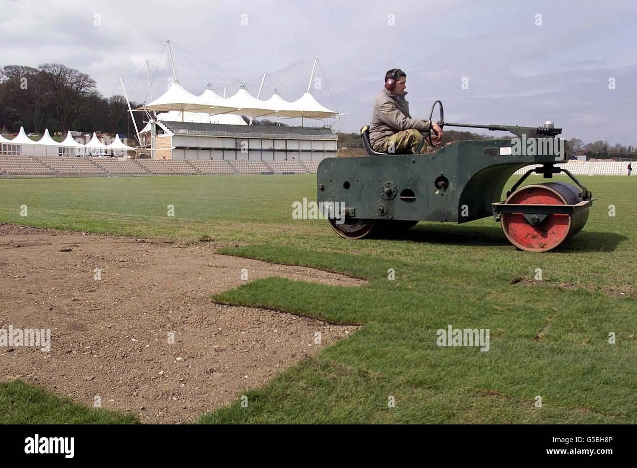 The Rose Bowl Cricket Ground Stock Photo 106590534 Alamy