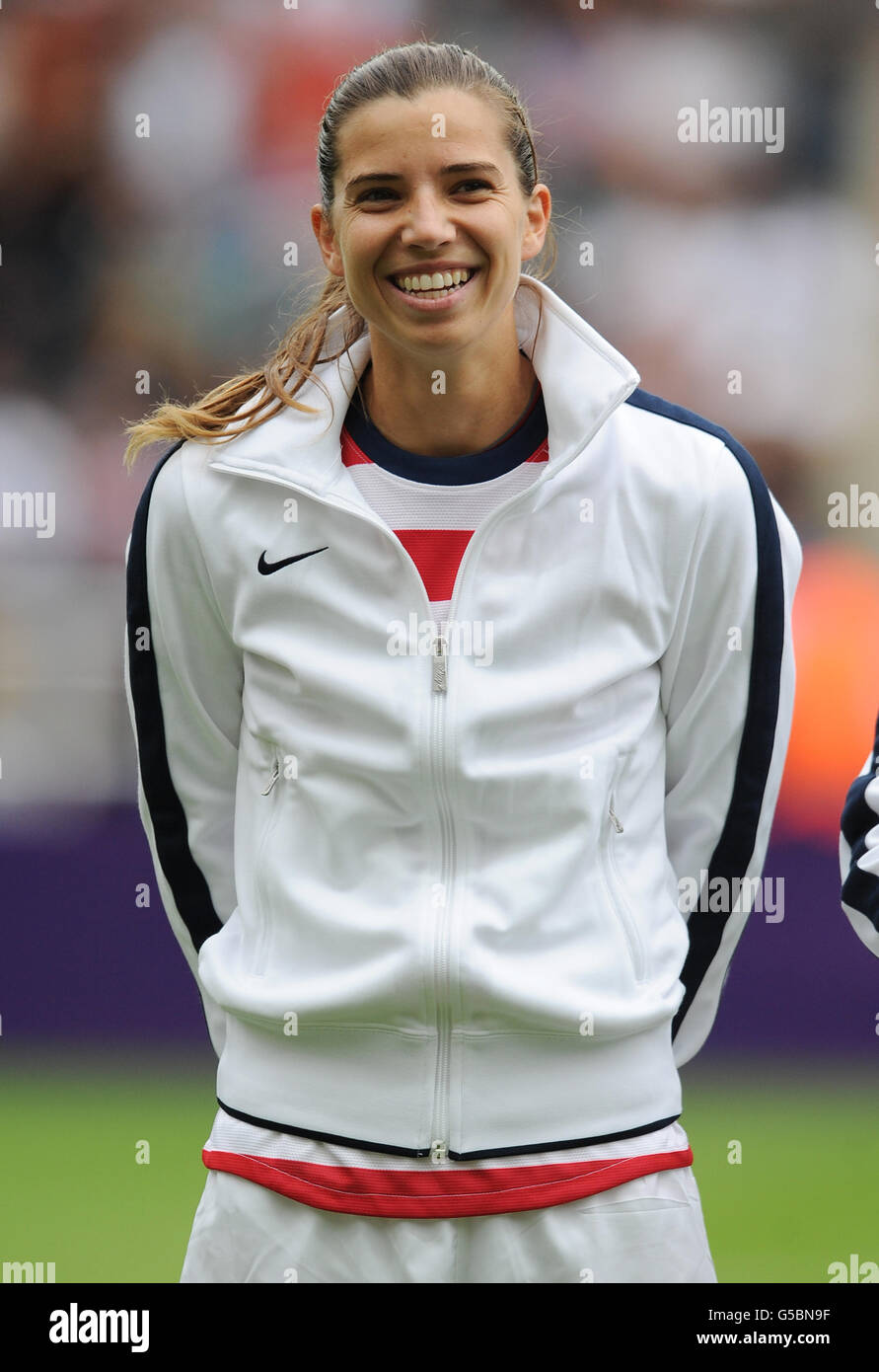 London Olympic Games - Day 7 - Stock Image
