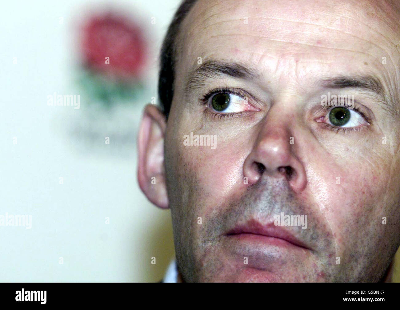 Woodward Rugby coach Stock Photo