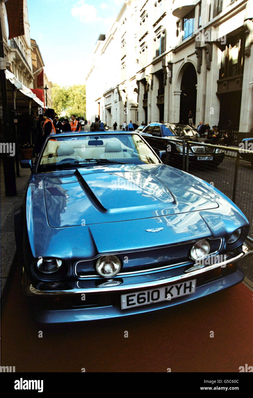 Sir Elton John Auction Preview Stock Photo