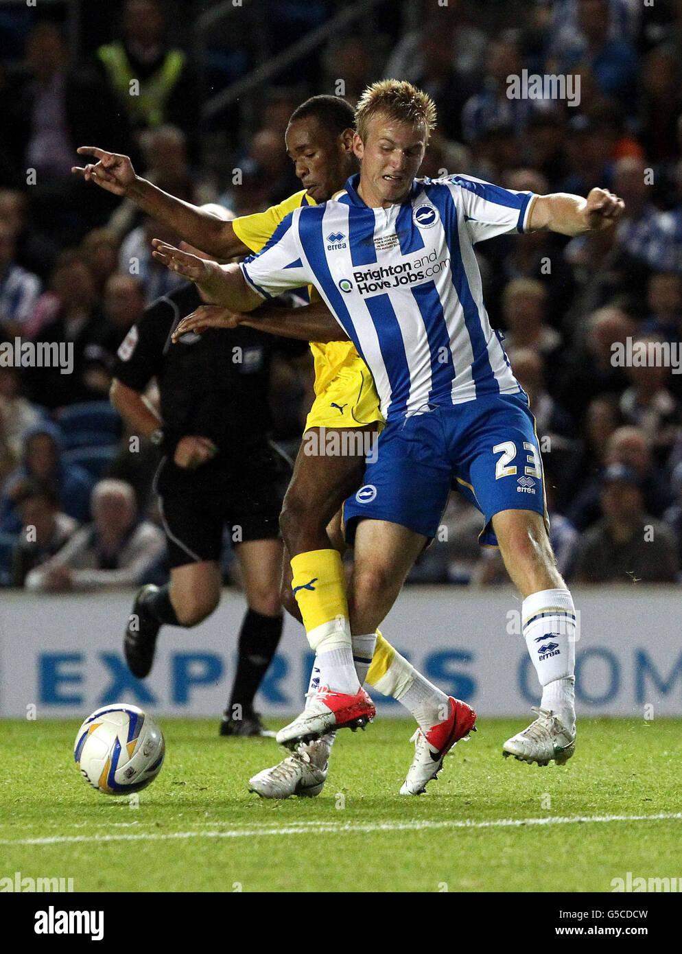 Soccer - Pre-Season Friendly - Brighton and Hove Albion v Reading - AMEX Stadium - Stock Image