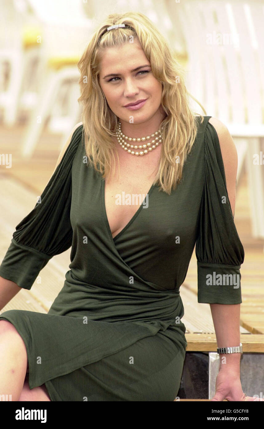 Cannes Kristy Swanson - Stock Image