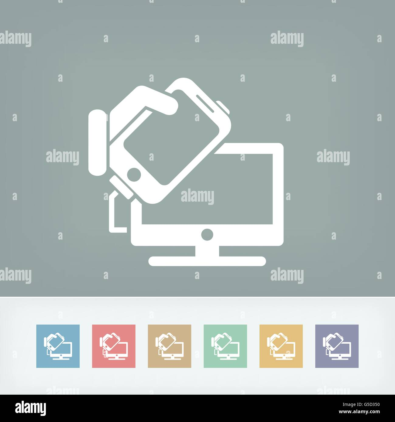 Tv Music Cable Stock Vector Images - Alamy