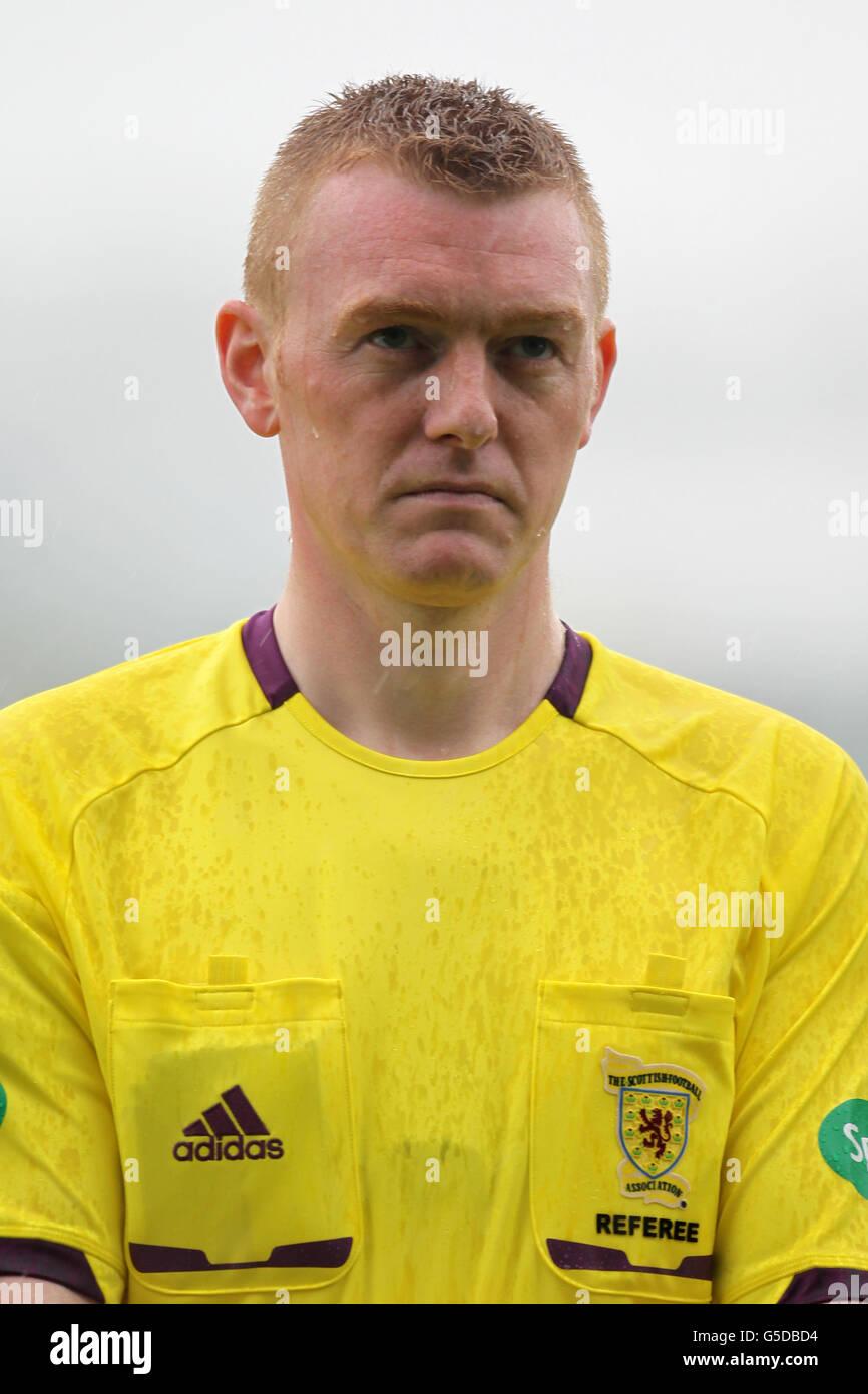 Soccer - International Challenge Match - Scotland U19 v Germany U19 - The Falkirk Stadium - Stock Image