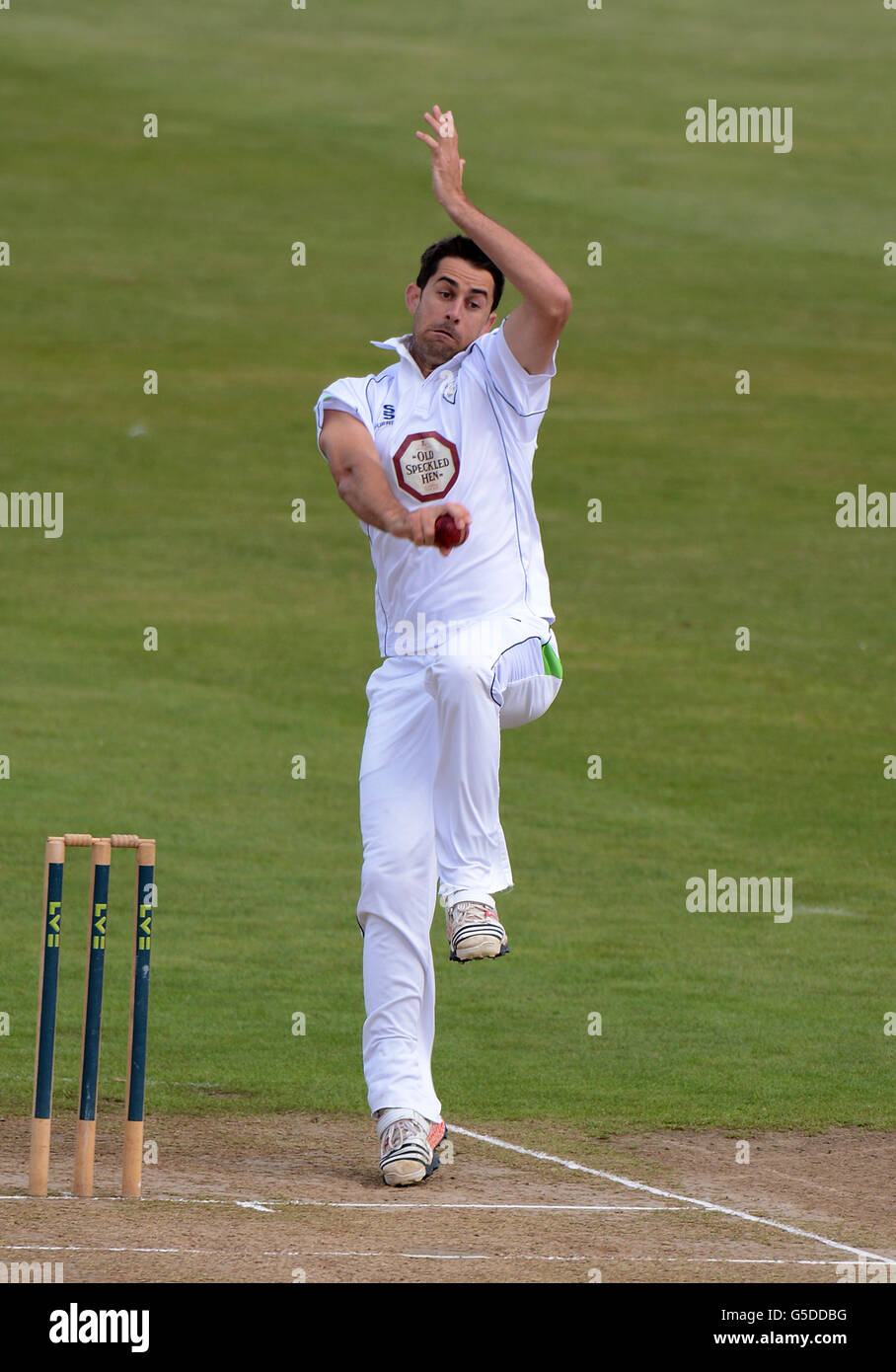 Cricket - LV County Championship - Division two - Northamptonshire v Derbyshire - County Ground - Stock Image