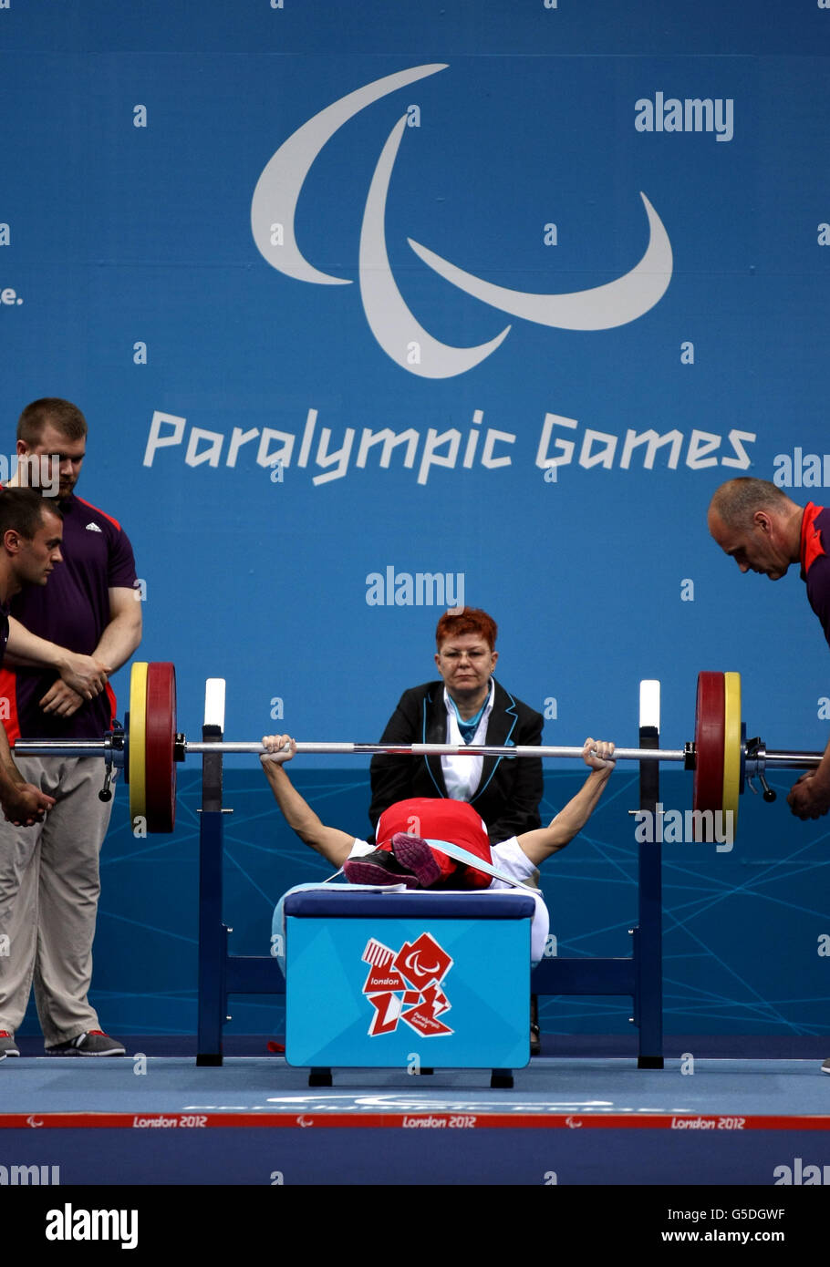 Watch Taoying Fu 4 Paralympic medals in powerlifting video