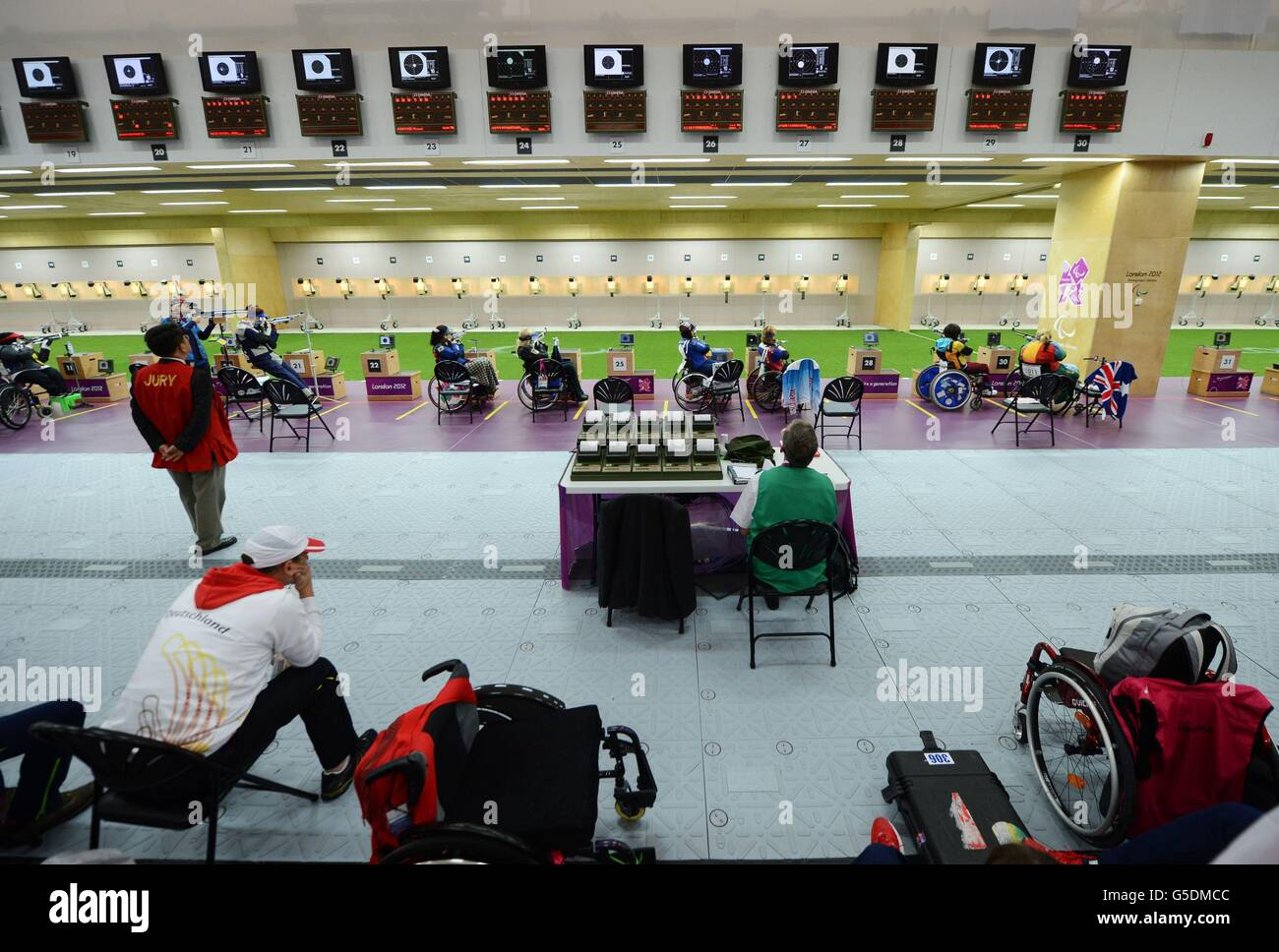 London Paralympic Games - Day 1 - Stock Image