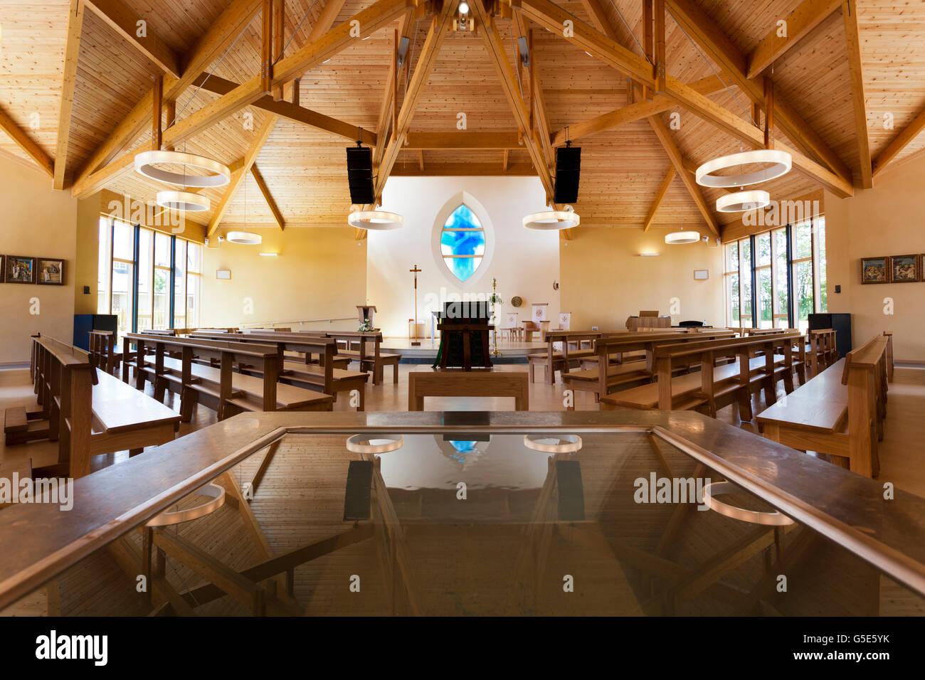 Modern Church Uk Interior Stock Photos & Modern Church Uk ...