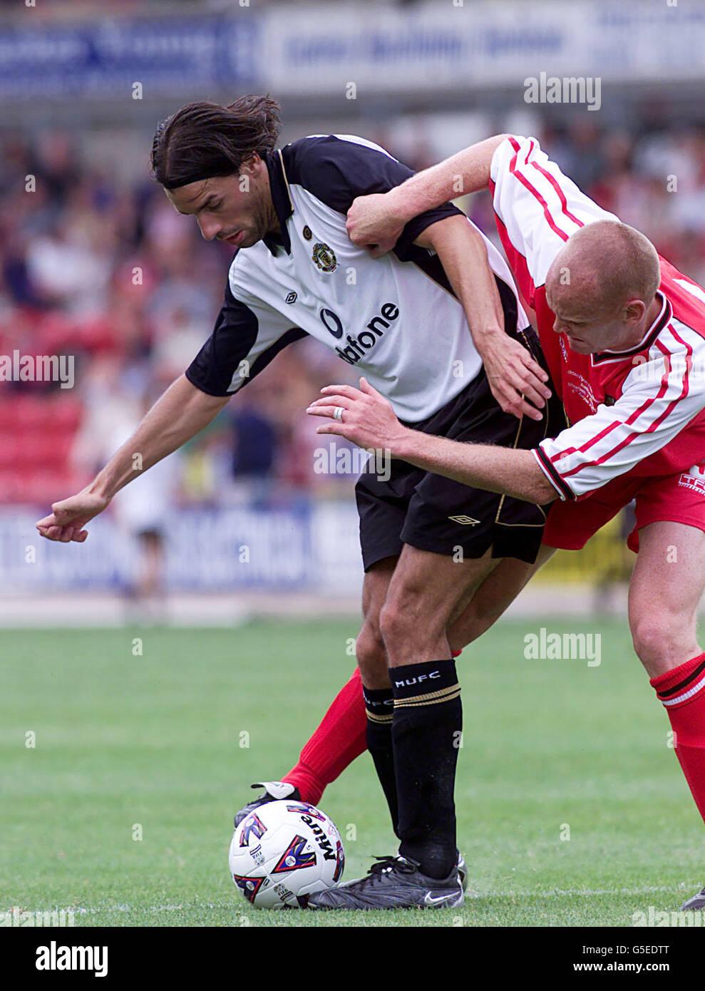 Wrexham v Man Utd Stock Photo