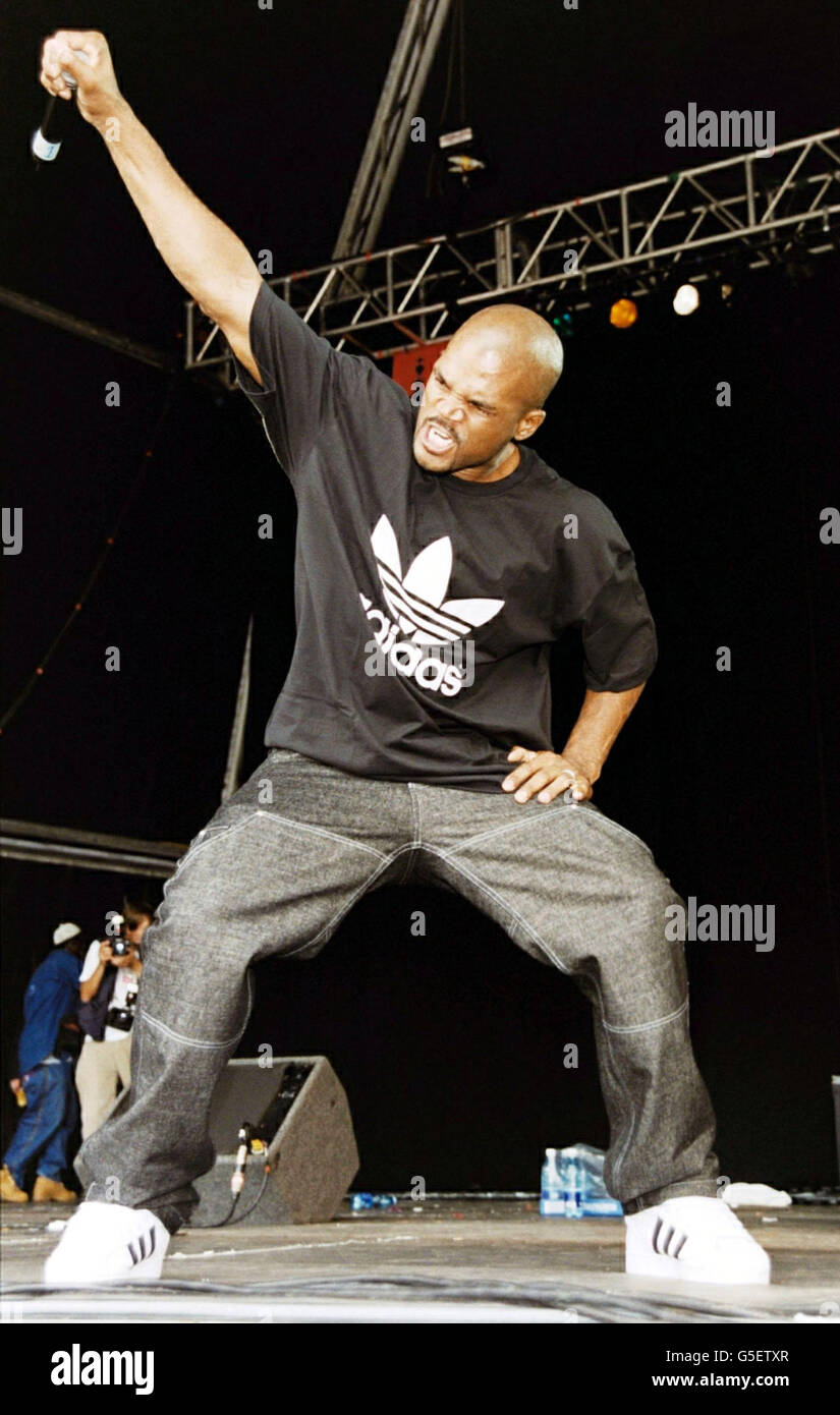 Run DMC Respect festival - Stock Image