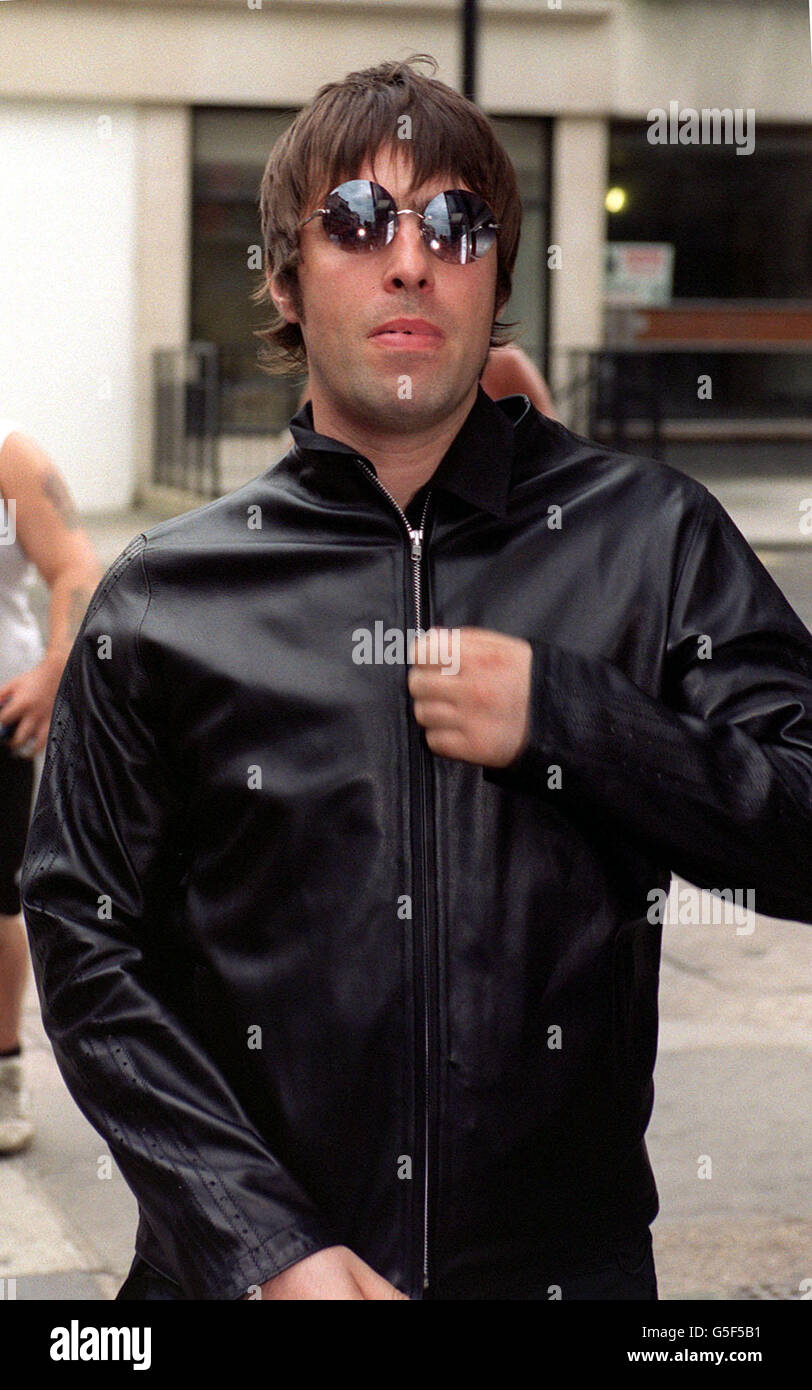 Liam Gallagher baby - Stock Image