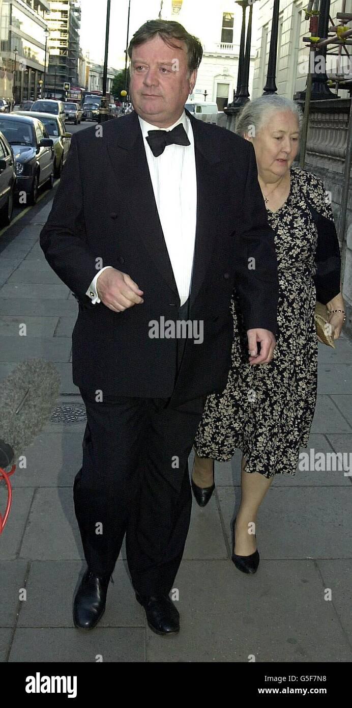 London Tories Clarke & wife - Stock Image