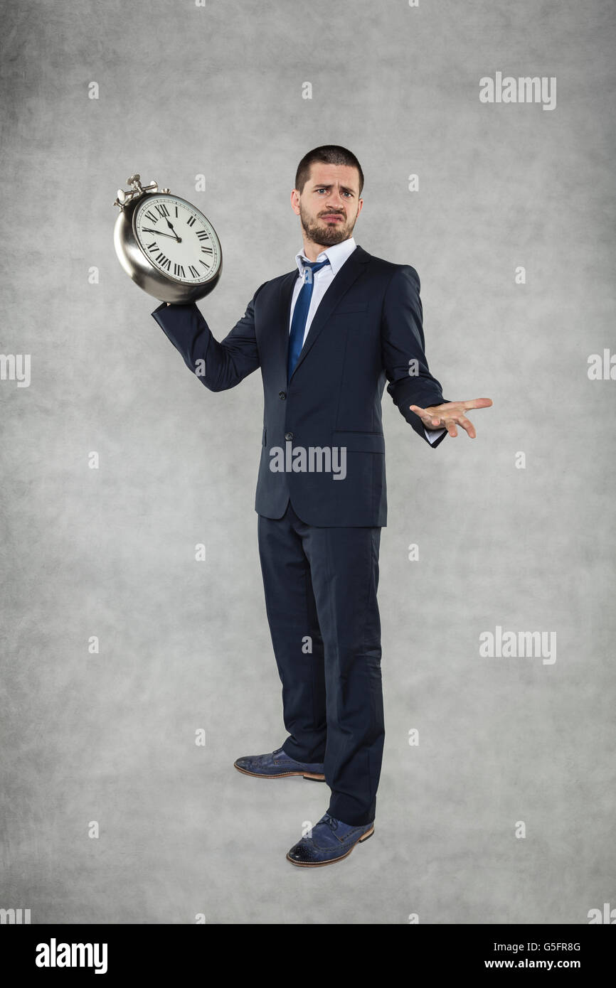 at the time - Stock Image
