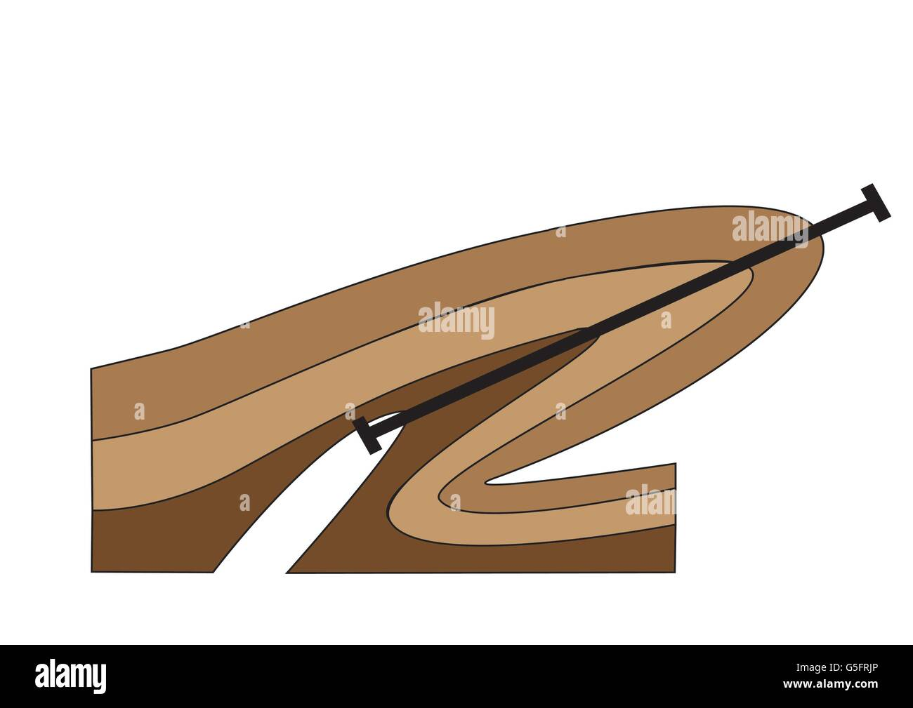 Diagram Of Folds Best Electrical Circuit Wiring Fold Fitted Sheet Diagrams Geological Stock Photos Rh Alamy Com Folding Sheets Golds Gym Model G4394