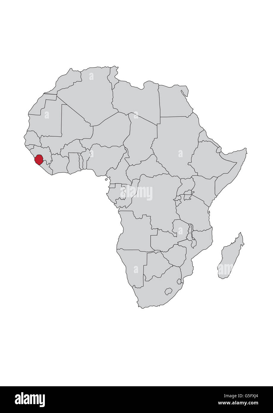 sierra leone africa map Map Africa Sierra Leone High Resolution Stock Photography And Images Alamy sierra leone africa map