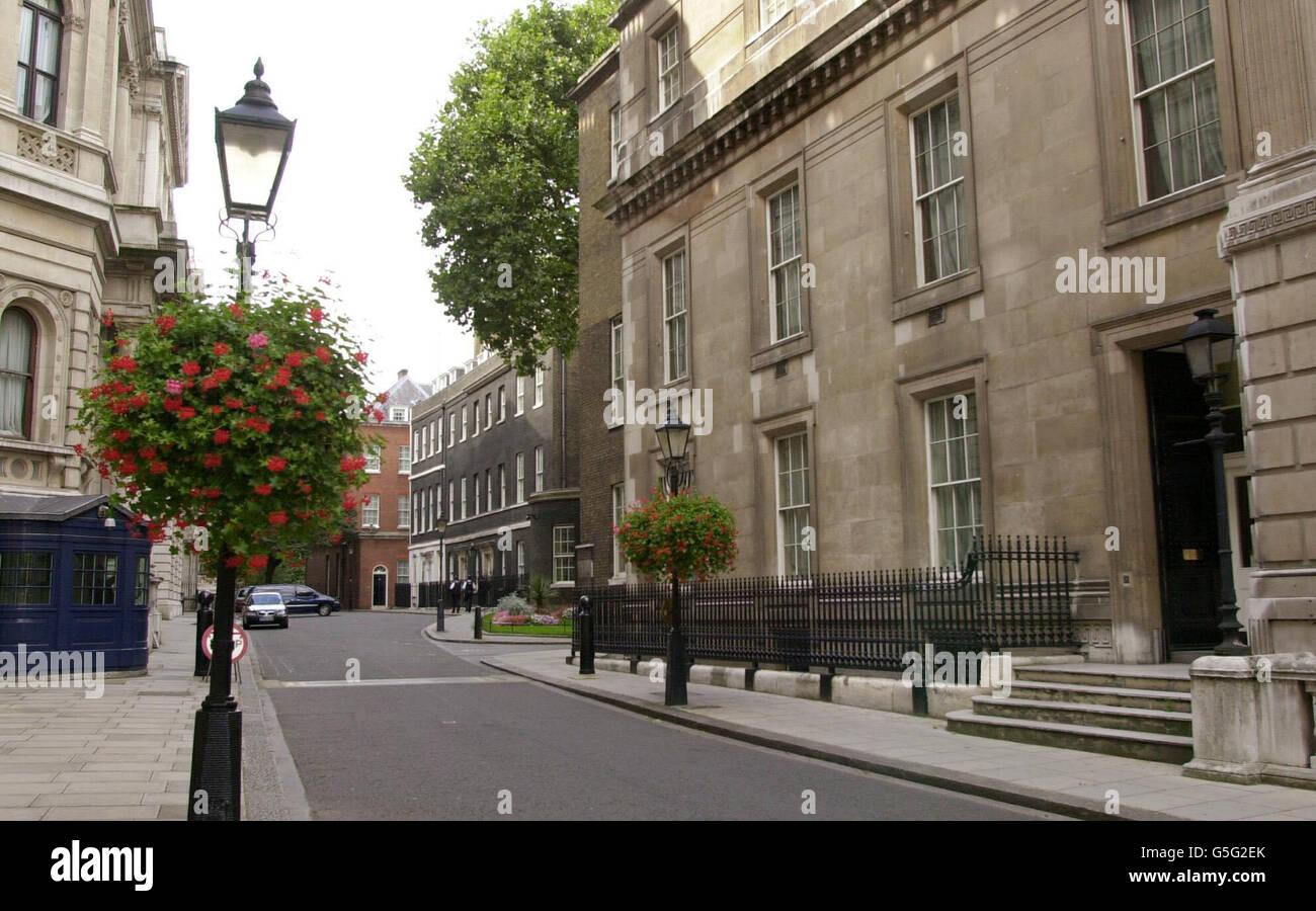 No.9 Downing Street Stock Phot...