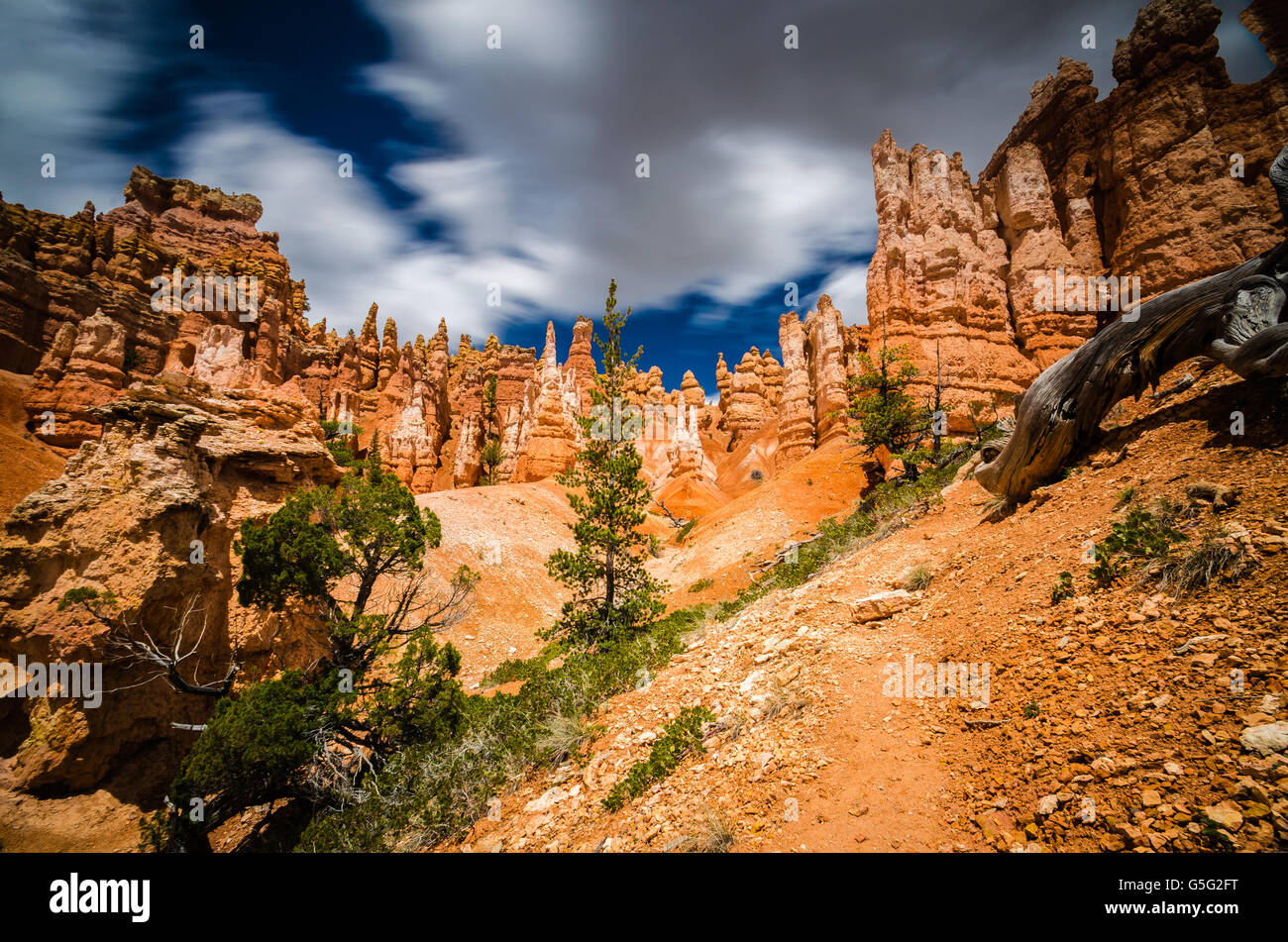 An Adventure in Bryce Canyon National Park - Stock Image