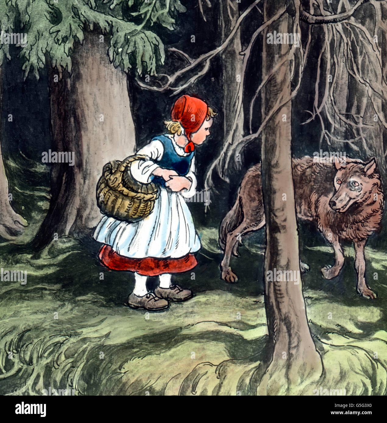 märchenpension rotkäppchen und der wolf