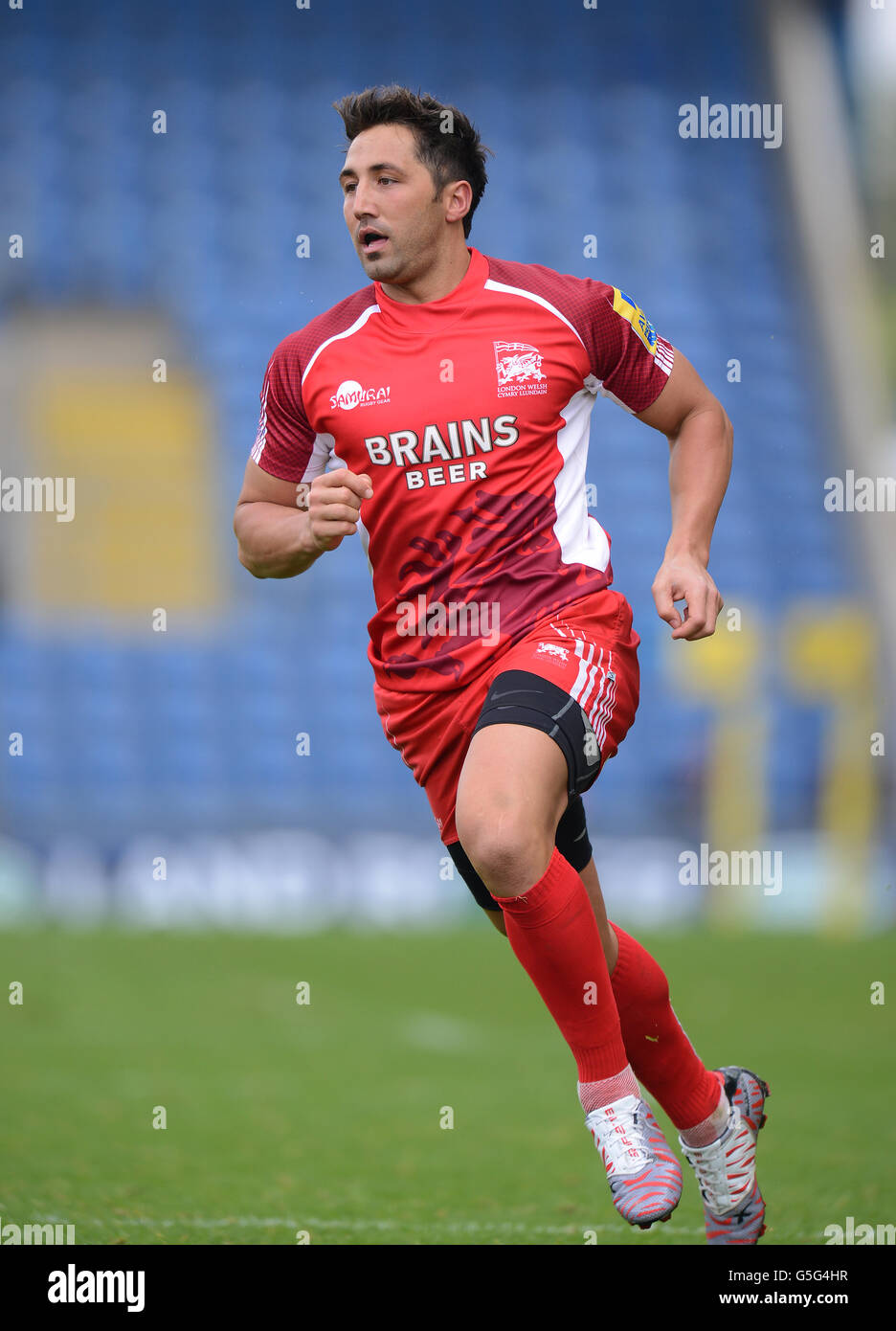 Rugby Union - Aviva Premiership - London Welsh v Saracens - Kassam Stadium - Stock Image