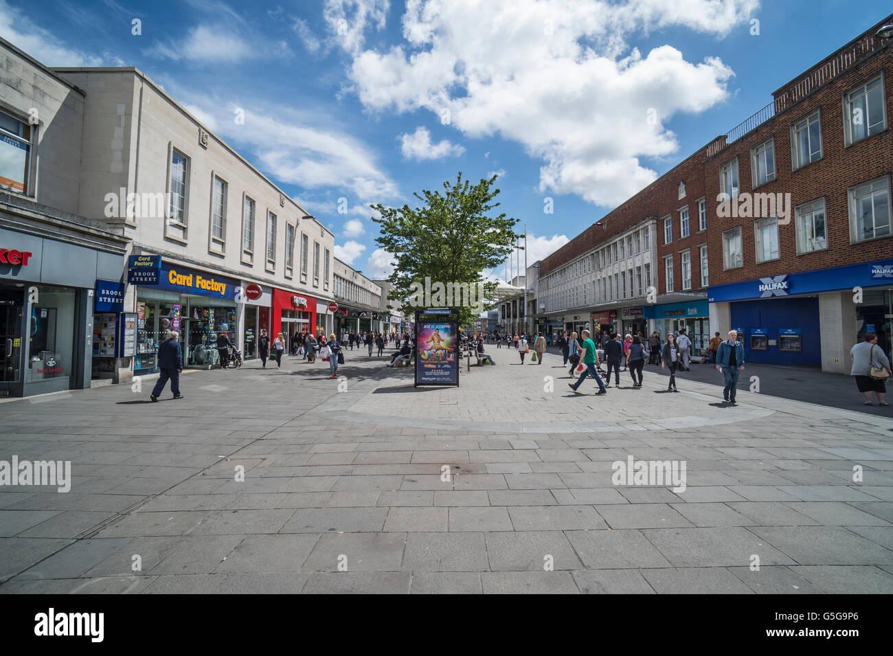 Southampton shopping precinct - Stock Image