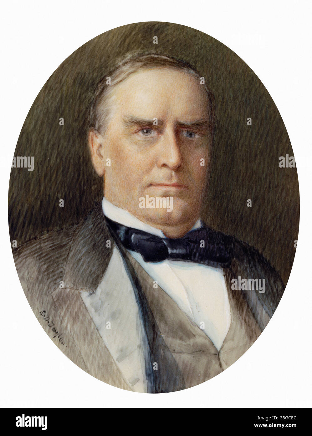 Emily Drayton Taylor - William McKinley - Stock Image