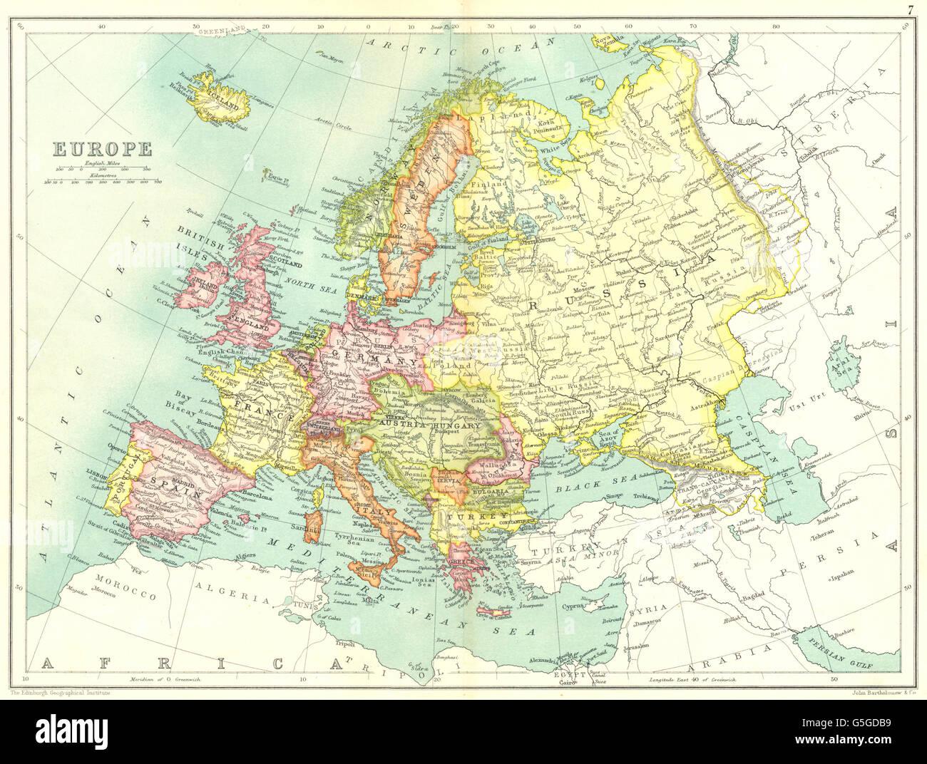 Pre Wwi Europe Map.Europe Pre Ww1 Shows Austria Hungary Turkey Servia Trans Caucasia