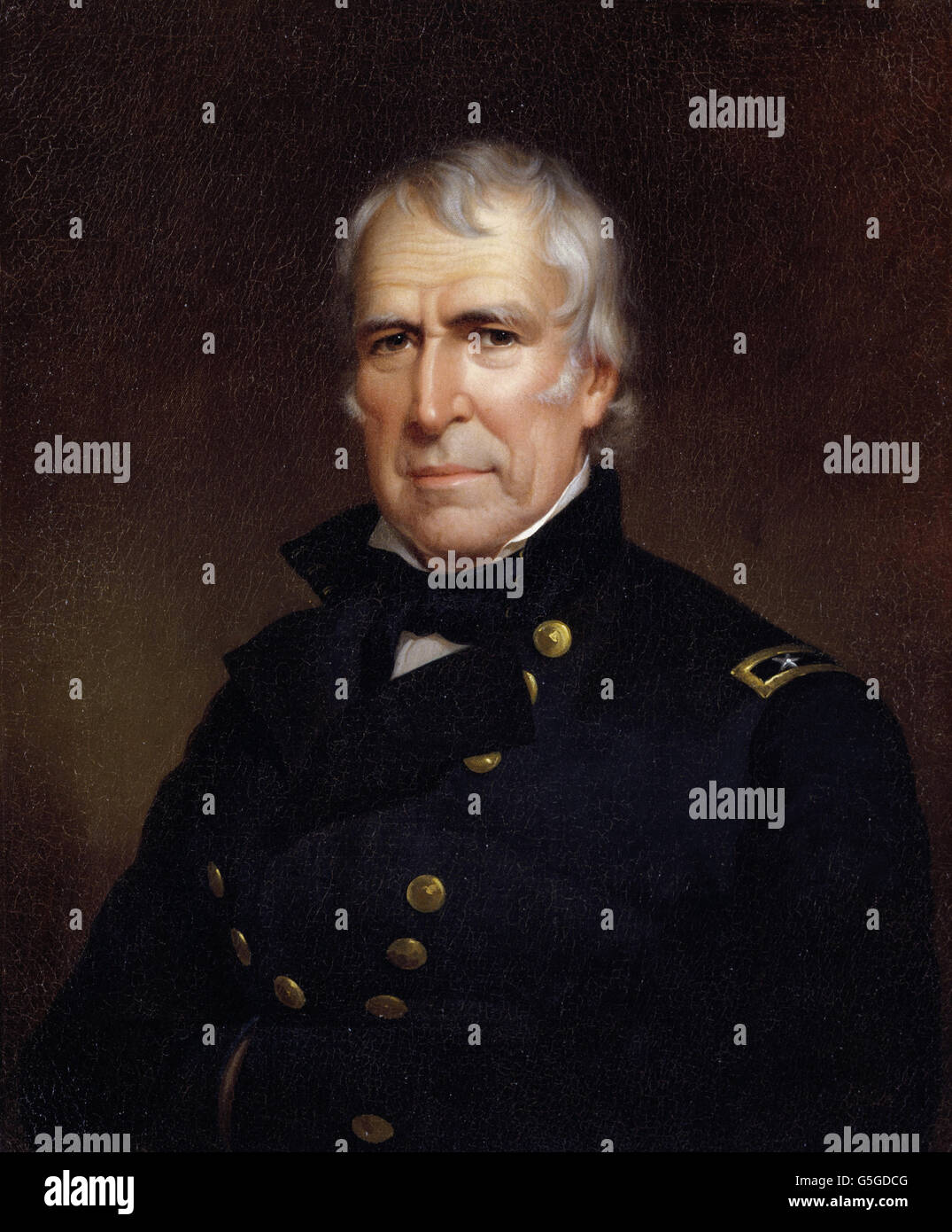 James Reid Lambdin - Zachary Taylor - Stock Image