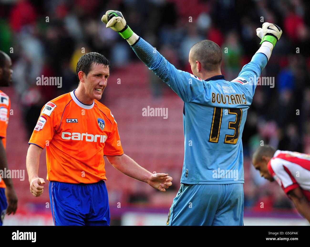 Soccer - npower Football League One - Sheffield United v Oldham Athletic - Bramall Lane - Stock Image