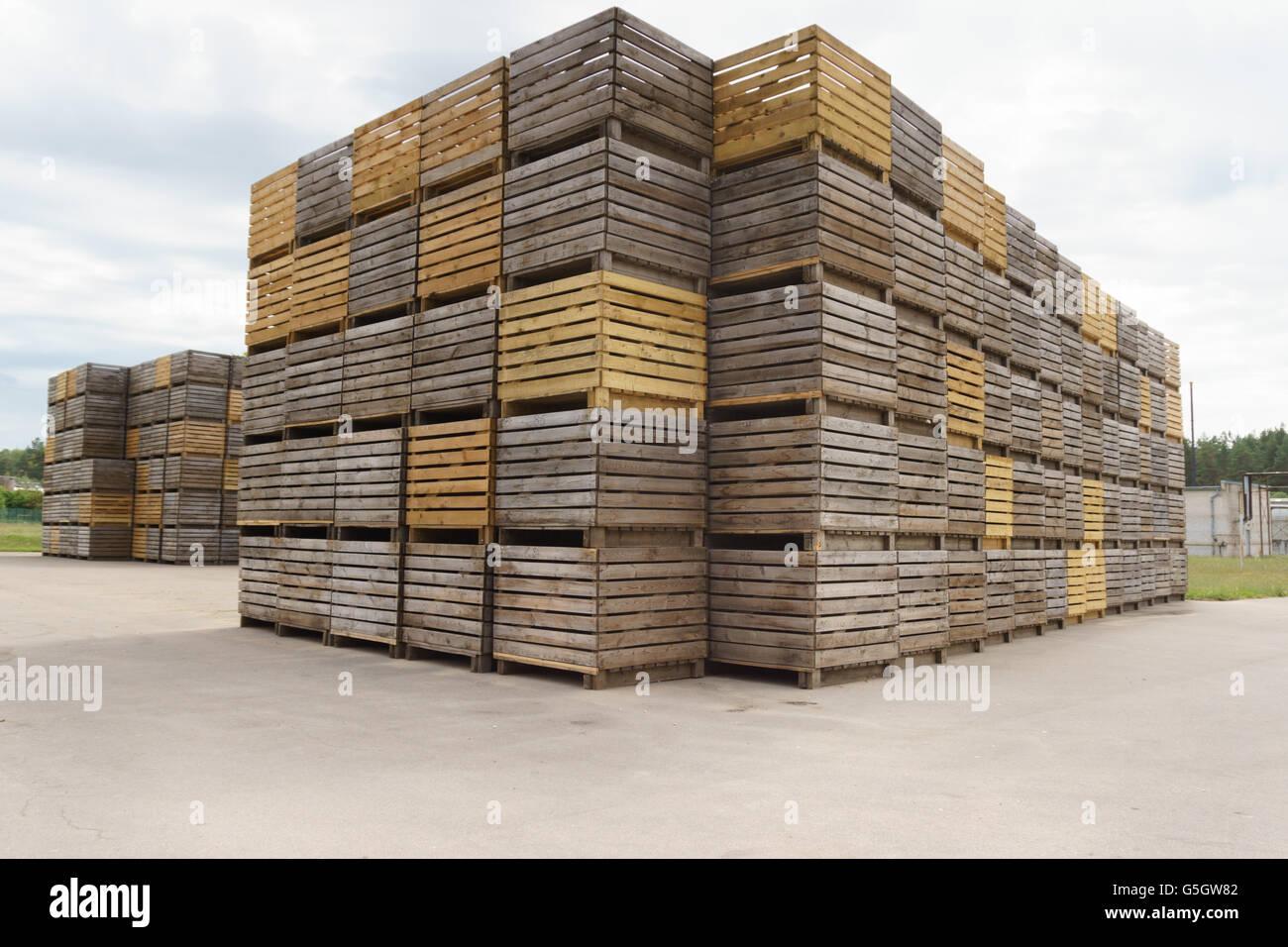 Boxes For Potato Storage