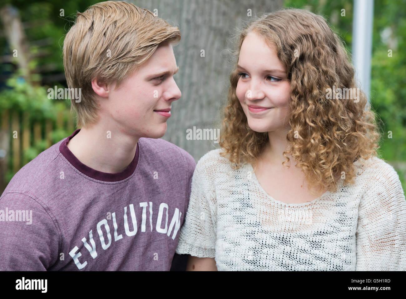 Look at teen