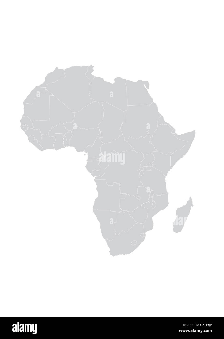 Map Of Africa Outline.Africa Outline Map Stock Photos Africa Outline Map Stock Images