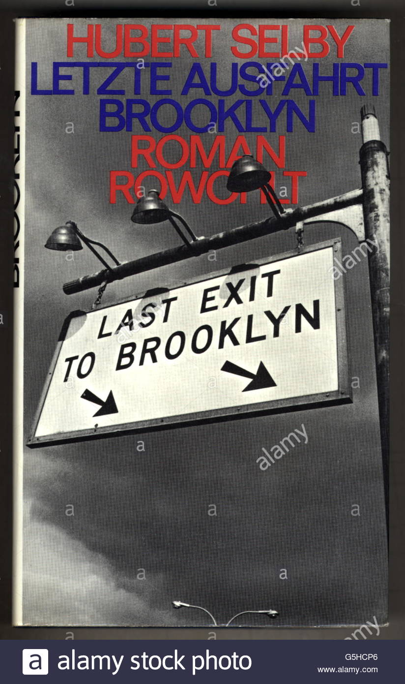 book, Hubert Selby: 'Last Exit to Brooklyn', novel, German edition ('Letzte Ausfahrt Brooklyn'), - Stock Image