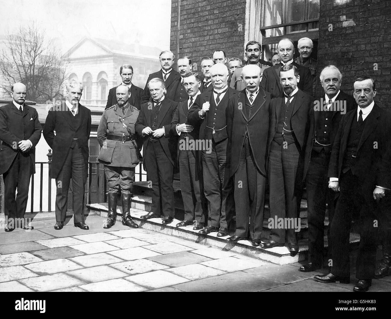 World War One - Imperial War Cabinet - First Meeting - Stock Image