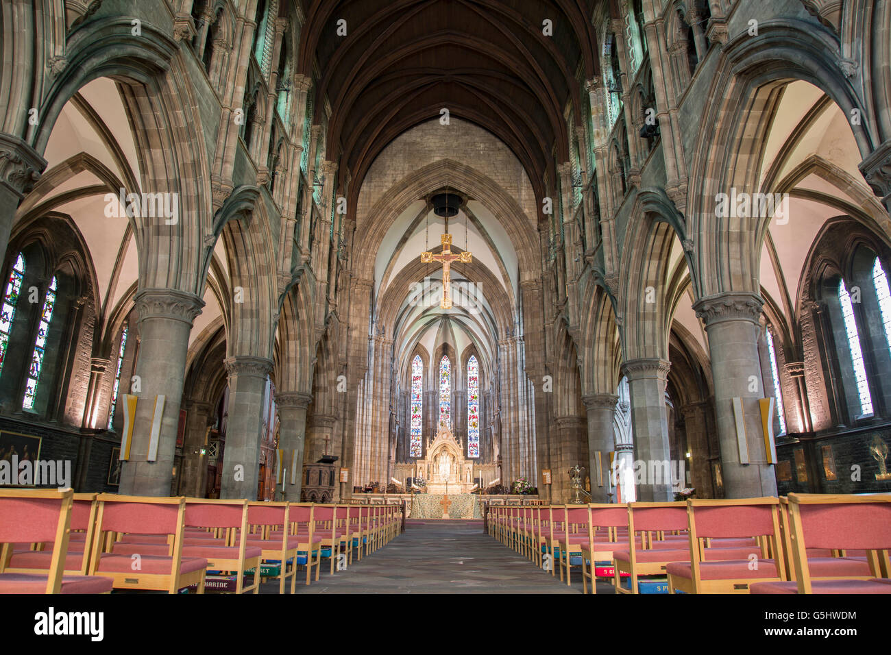 St Marys Episcopal Cathedral Church Stock Photos & St ...